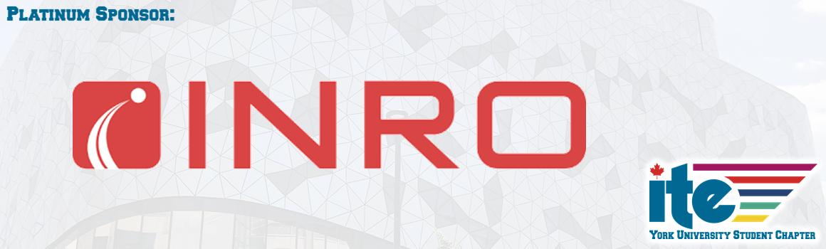 Sponsor - INRO